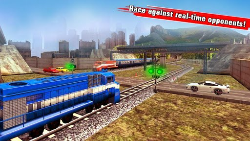 Train Racing Games 3D screenshot 2
