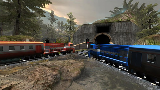 Train Racing Games 3D screenshot 4
