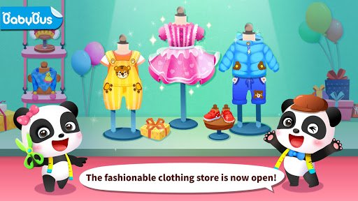 Baby Panda's Fashion Dress Up screenshot 1