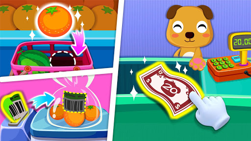 Baby Panda's Supermarket screenshot 3
