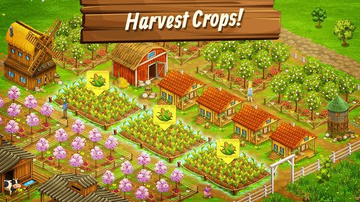 Big Farm - Mobile Harvest screenshot 1