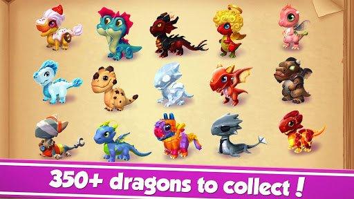 Dragon Mania Legends screenshot 1
