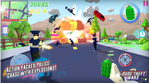 Dude Theft Wars screenshot 1