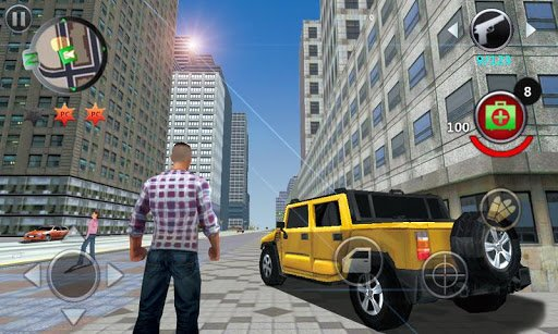 Grand Gangsters 3D screenshot 1