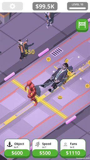 Idle Tap Strongman screenshot 1