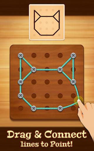 Line Puzzle - String Art screenshot 1