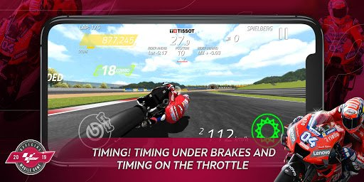 MotoGP Racing screenshot 2