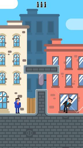 Mr Bullet - Spy Puzzles screenshot 1