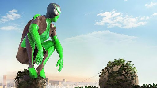 Rope Frog Ninja Hero screenshot 2