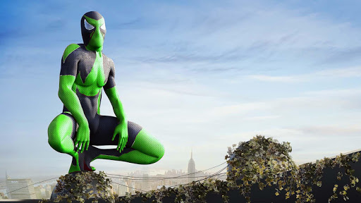 Rope Frog Ninja Hero screenshot 3