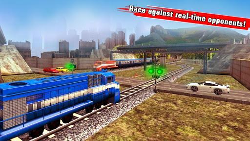 Train Racing Games 3D screenshot 2