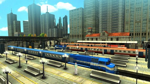 Train Racing Games 3D screenshot 3