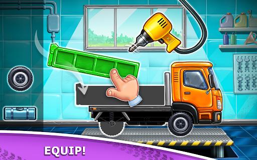 Truck games for kids screenshot 1