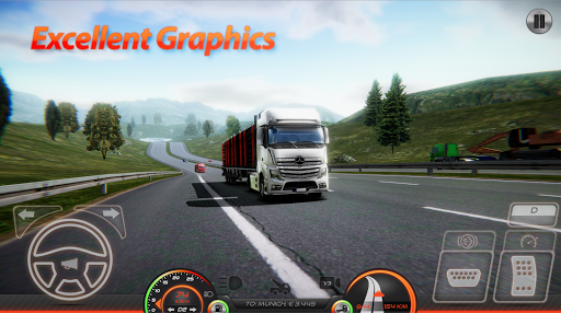 Truck Simulator - Europe 2 screenshot 1