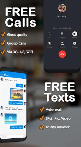 Dingtone - free phone calls and texting screenshot 1