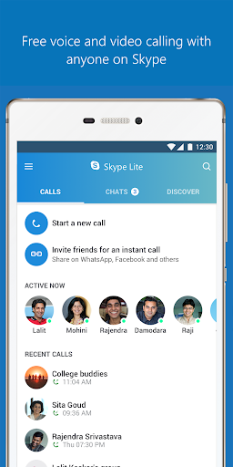 Skype Lite screenshot 2