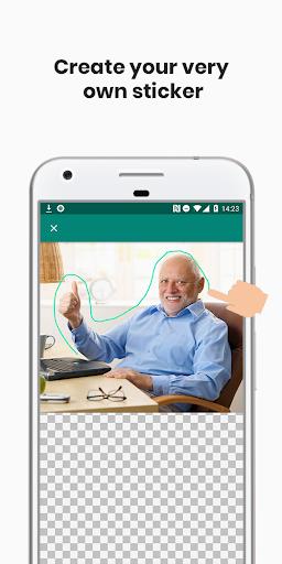 Sticker Studio for WhatsApp screenshot 1