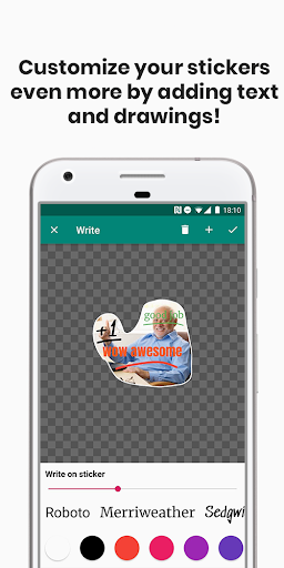Sticker Studio for WhatsApp screenshot 2