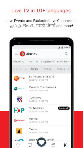 Airtel TV screenshot 3
