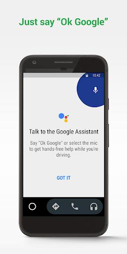 Android Auto screenshot 1