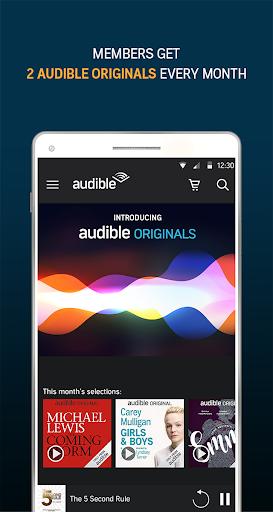 Audiobooks from Audible screenshot 3