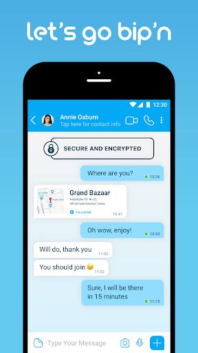 BiP Messenger screenshot 1