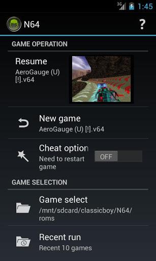 ClassicBoy Emulator screenshot 2