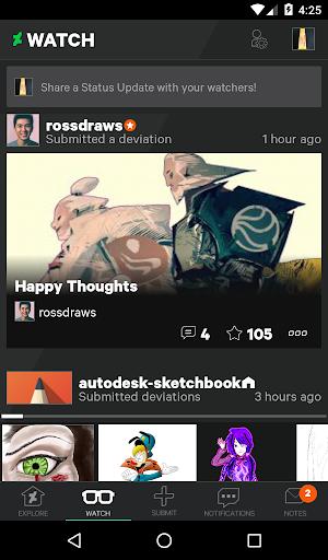 DeviantArt screenshot 3