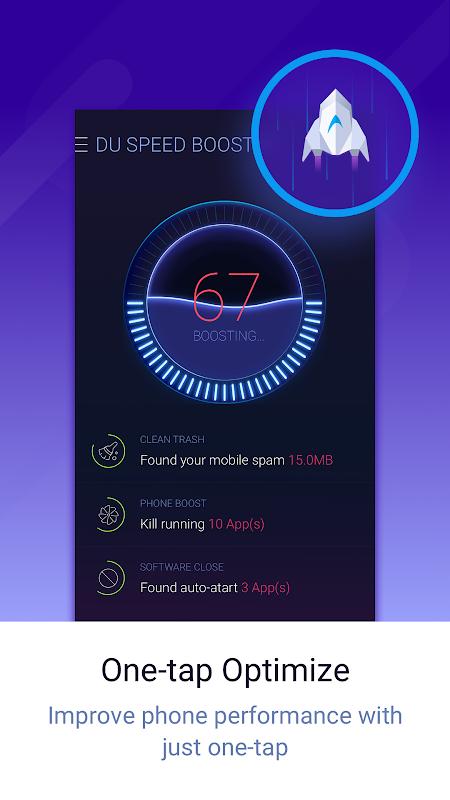 DU Speed Booster screenshot 1