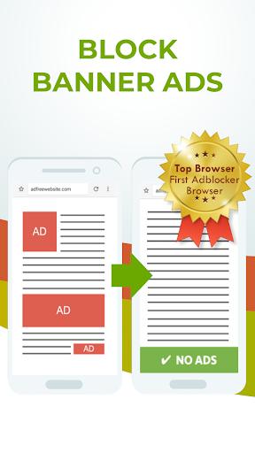 Free Adblocker Browser screenshot 1