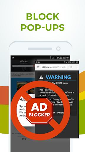 Free Adblocker Browser screenshot 2