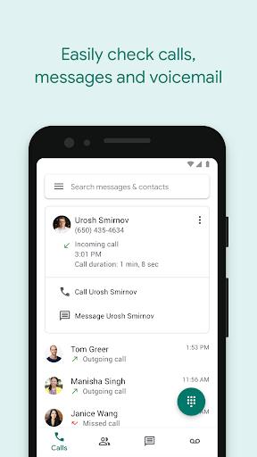 Google Voice screenshot 1