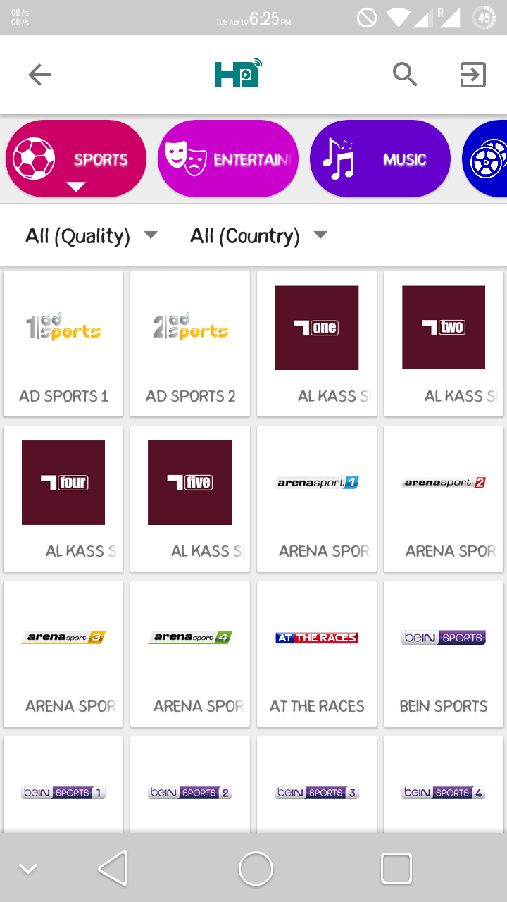 HD Streamz screenshot 2