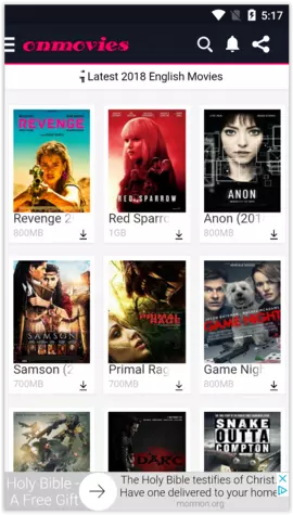 Onmovies App screenshot 3