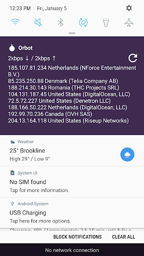 Orbot - Proxy with Tor screenshot 3