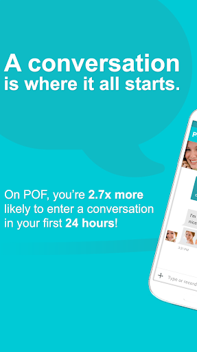 POF Free Dating screenshot 1