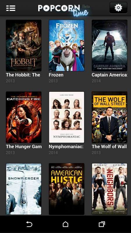 Popcorn Time screenshot 3