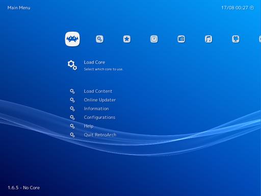 RetroArch screenshot 3