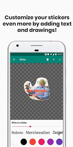 Sticker Studio for WhatsApp screenshot 2