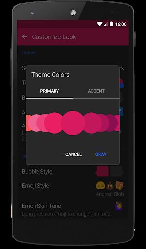 Textra SMS screenshot 1