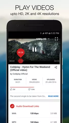 Videoder screenshot 1