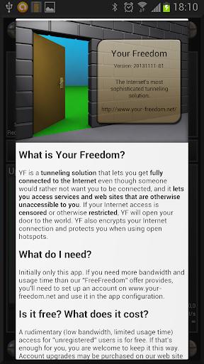 Your Freedom screenshot 1